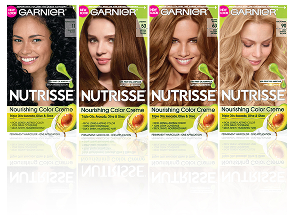 Garnier Nutrisse Nourishing Color Creme Hair Color, 83 Medium Golden ...