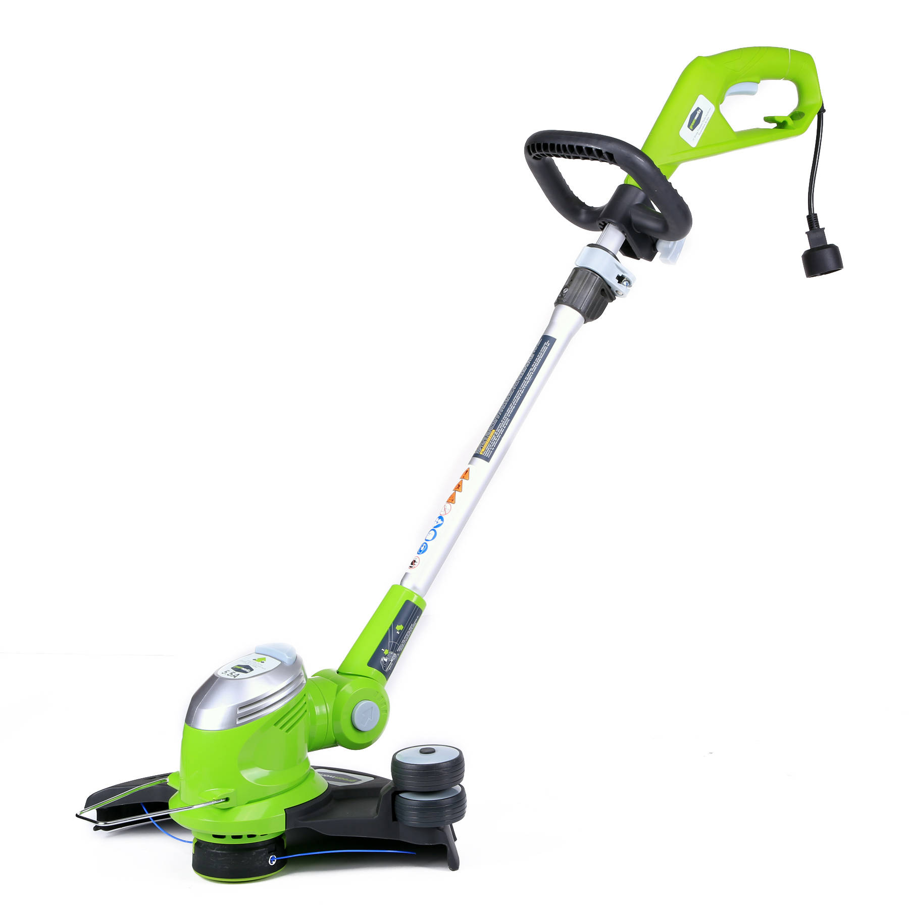 Greenworks 7.0 amp Electric Leaf Blower Green Walmart.com #86B11A