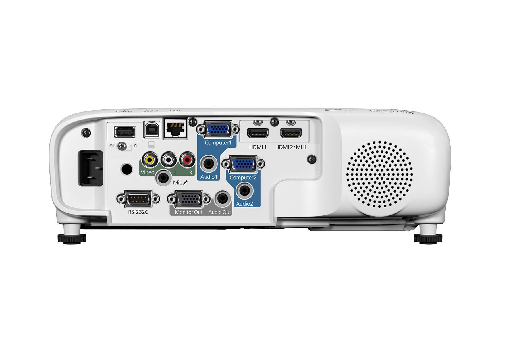 Video Proyector Epson Powerlite 2042 4400 Lúmenes