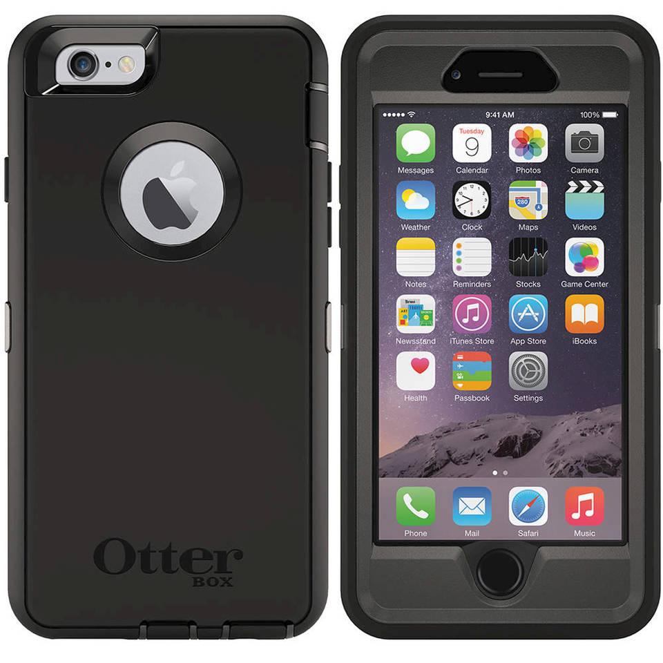 Otterbox Defender Series Holster Case For Iphone 6 Glacier 77 50207