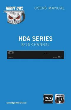 View HDA Series - Manual PDF