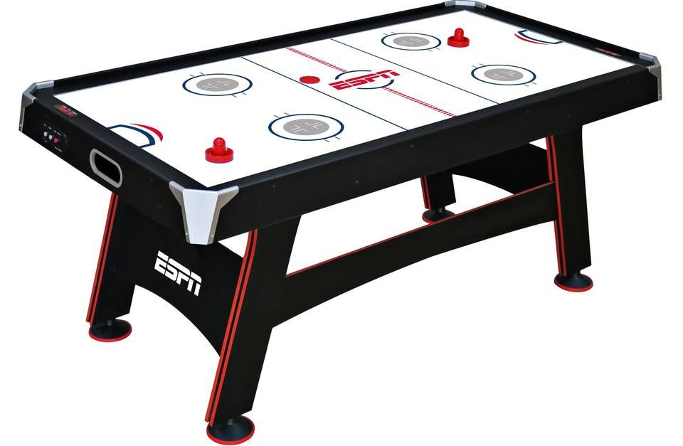 Ea sports 60 inch air powered hockey table with overhead electronic air hockey table with led electronic scorer greentooth Image collections