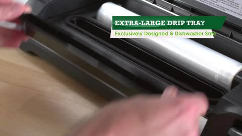 XL PATENTED REMOVABLE DRIP TRAY