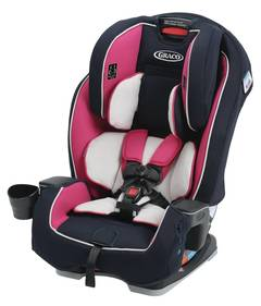 Graco SlimFit All In One Convertible Car Seat Anabele MyRide 65 Go Gree Contender Chili Red