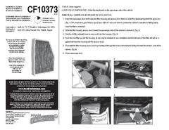 CF10373 Installation Instructions