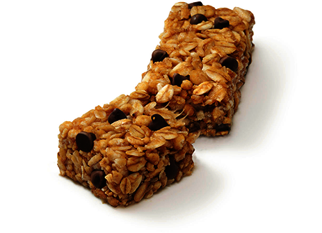 Chewy Chocolate Chip Granola Bars Recipe — Dishmaps