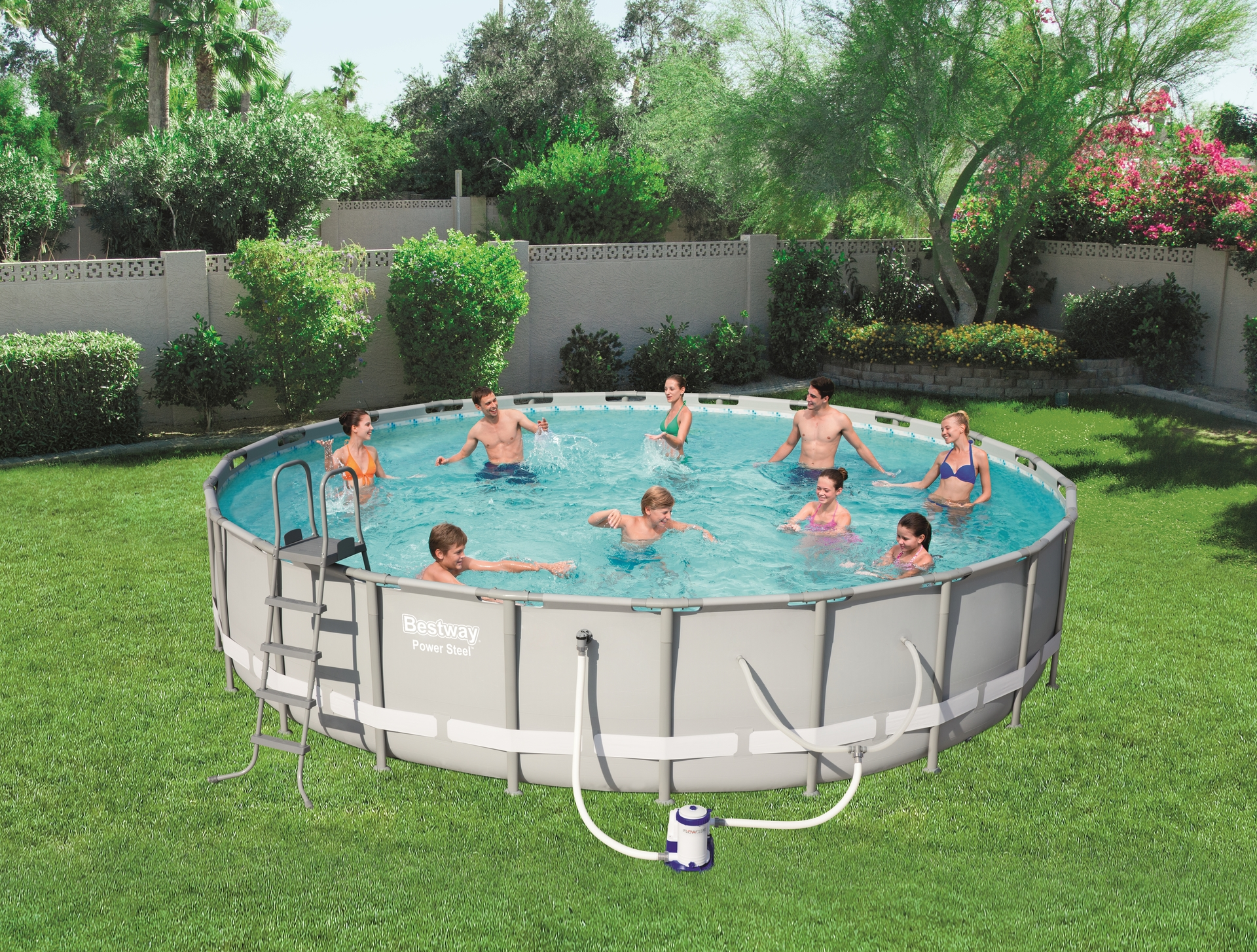 Bestway 16 Ft Swimming Pool - Best Foto Swimming Pool and ...
