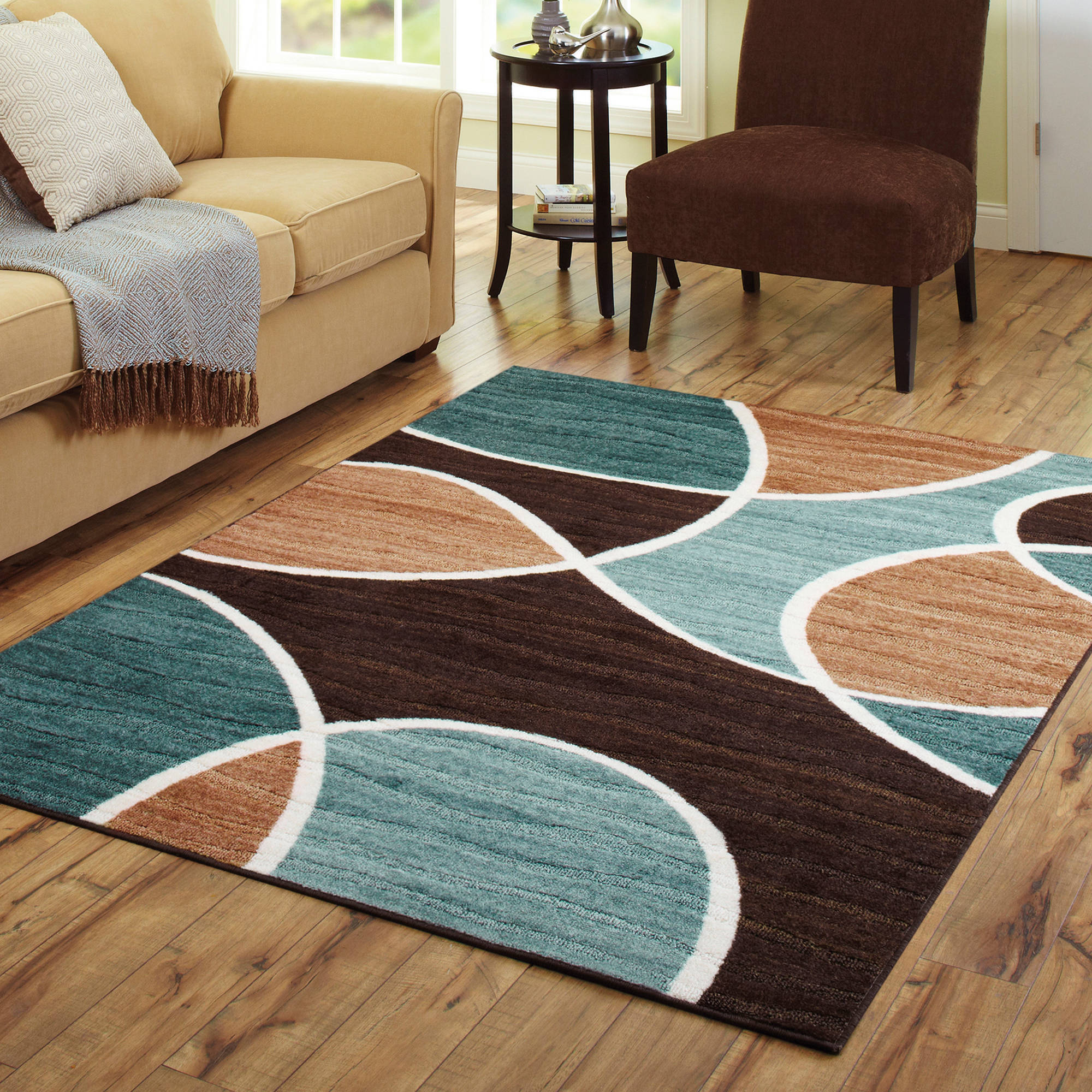 Brown And Aqua Area Rugs Roselawnlutheran