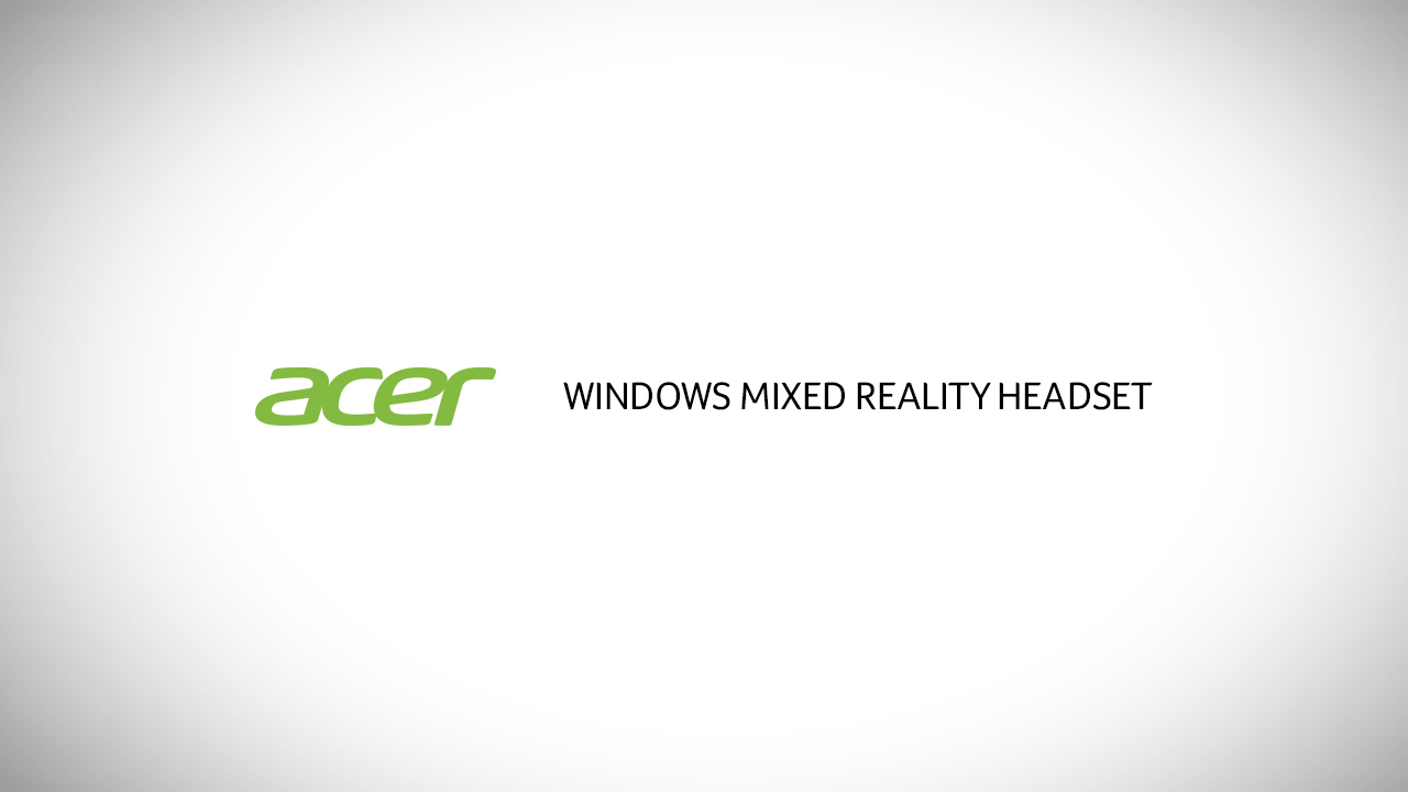 Acer Windows Mixed Reality Headset AH101-D8EY - virtual reality headset - 2