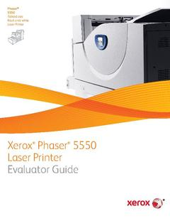View Phaser 5550 Evaluator Guide PDF