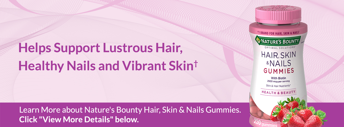 Nature S Bounty Hair Skin And Nails 230 Gummies