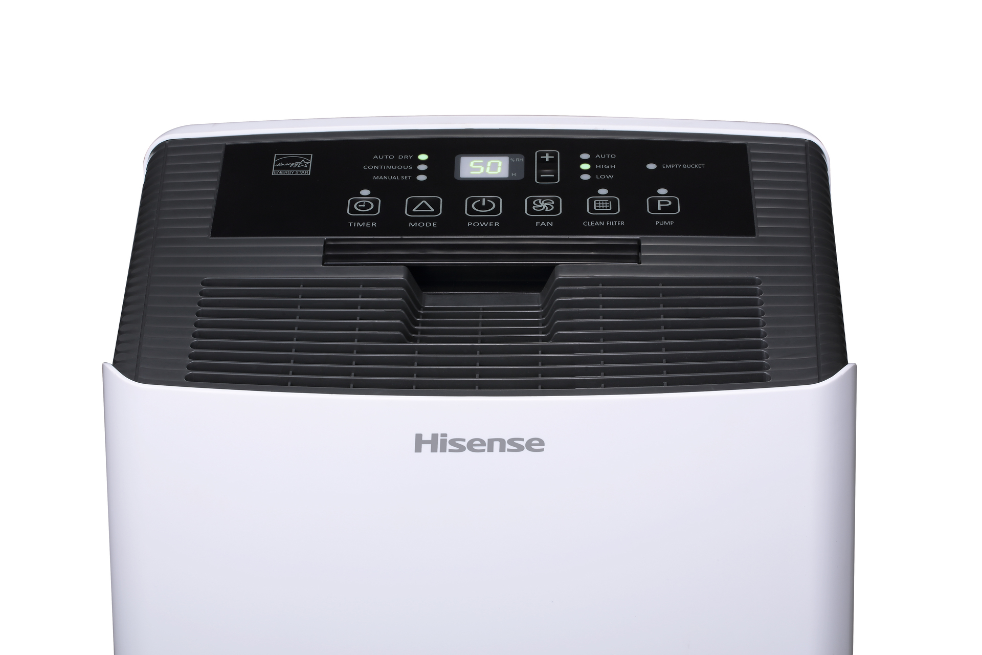 Hisense 70 2-Speed Dehumidifier with Built-In Pump ENERGY STAR at