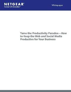 Businesses and the Productivity Paradox