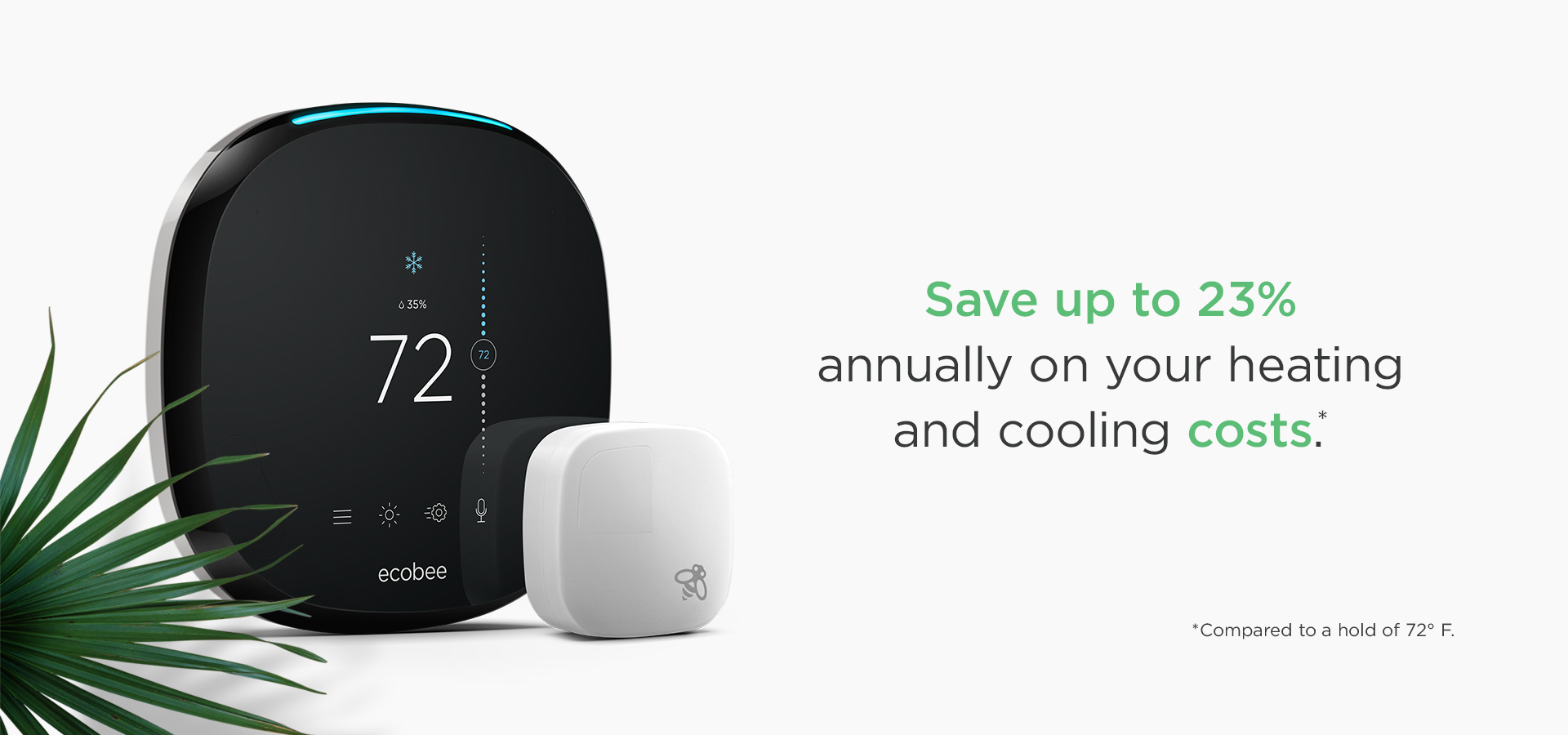 Ecobee 4 Thermostat with Wi-Fi Compatibility at Lowes com