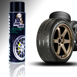 The Original No Spit Tire Shine! No Fling, No Sling!!