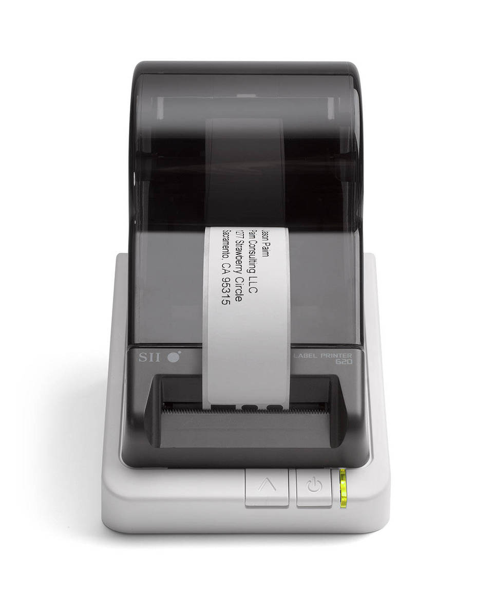 Seiko Instruments Versatile Desktop Label Printer Second USB By - Name badge printer