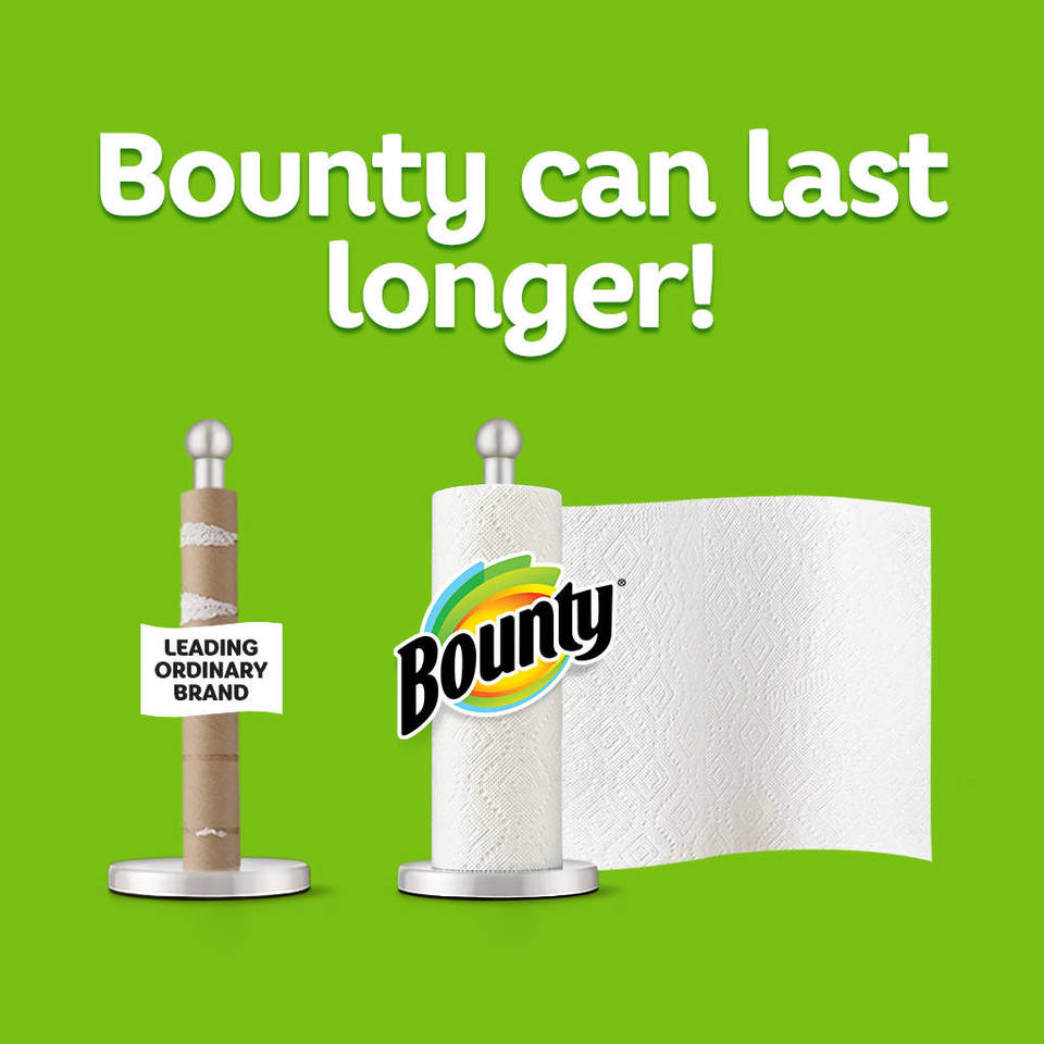 Paper Towel Rolls For Hamsters: Bounty Super Plus Roll Paper Towels, 12 Pk.