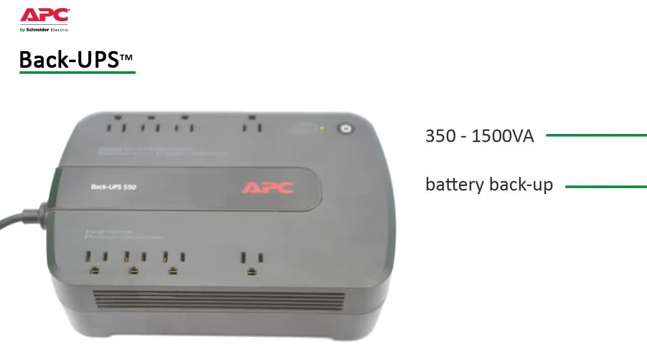 Apc Be650g1 Back Ups 650 Va 8 Outlet Uninterruptible Power Supply Home Circuit Protection Timers Analogue Digital Battery Up The Features And Benefits Of An