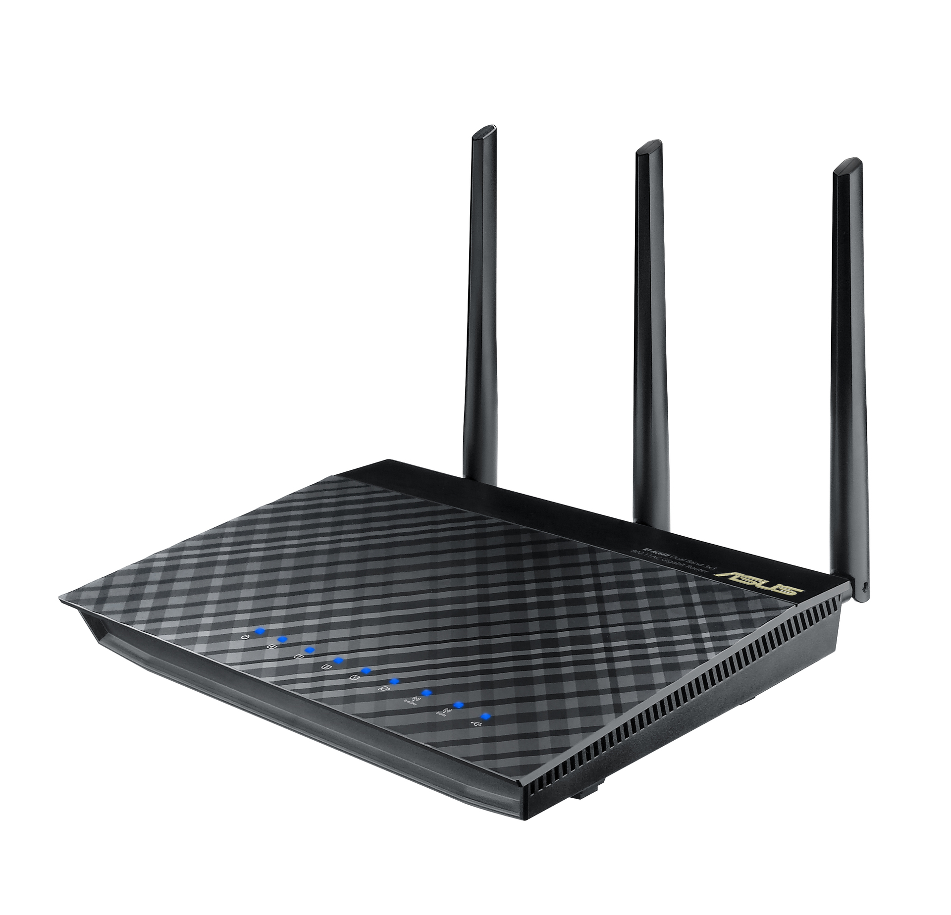 ASUS RT-AC66R Dual-Band Wireless-AC1750 Gigabit Router IEEE 802.11ac ...