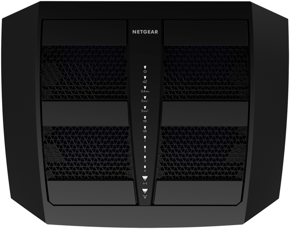 NETGEAR Nighthawk X6 R8000-100NAS Tri Band Wireless and Ethernet Router,  Black