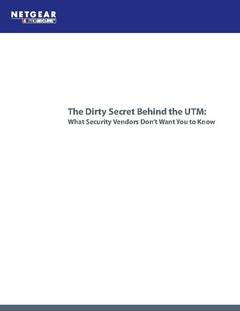 The Dirty Secret Behind UTM Firewalls that Vendors Don't Want You to Know
