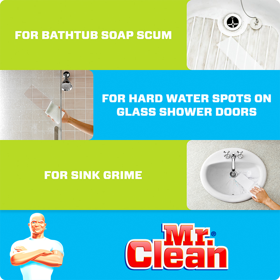 Mr. Clean Clean Magic Eraser Bath Enhanced Content