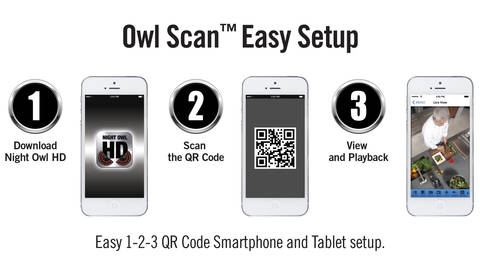 Easy QR Code Network Setup in less than 2 minutes – Owl Scan!