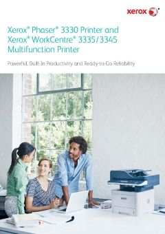 View Xerox Phaser 3330DNI Brochure PDF