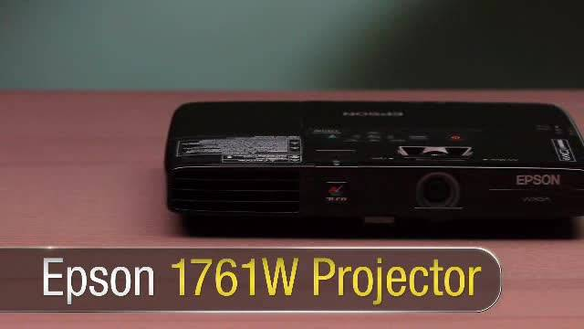 Epson PowerLite 1761W Projector Product Overview
