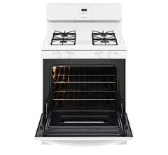 Frigidaire Gas Freestanding Range: FFGF3016TW, Door open, Empty