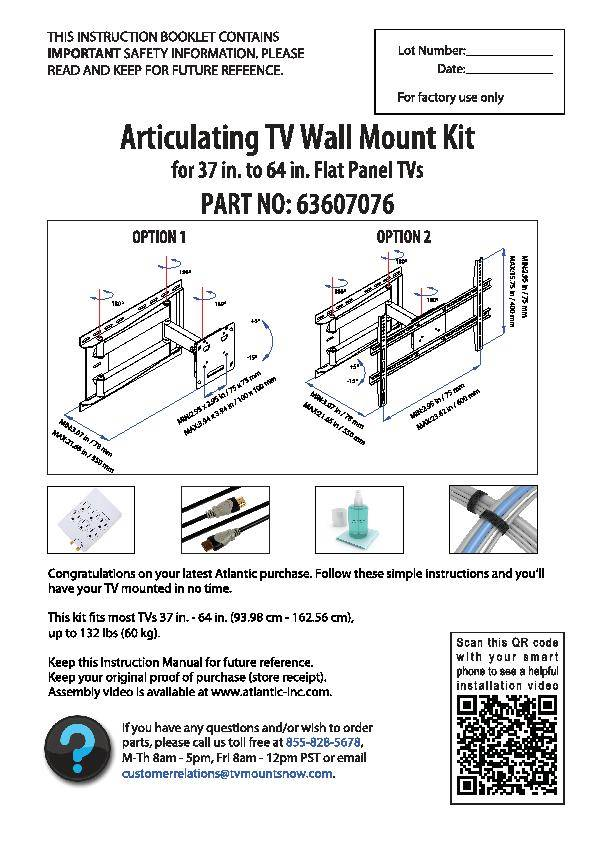 Tv Installation Wall Mount Tv Installation Instructions