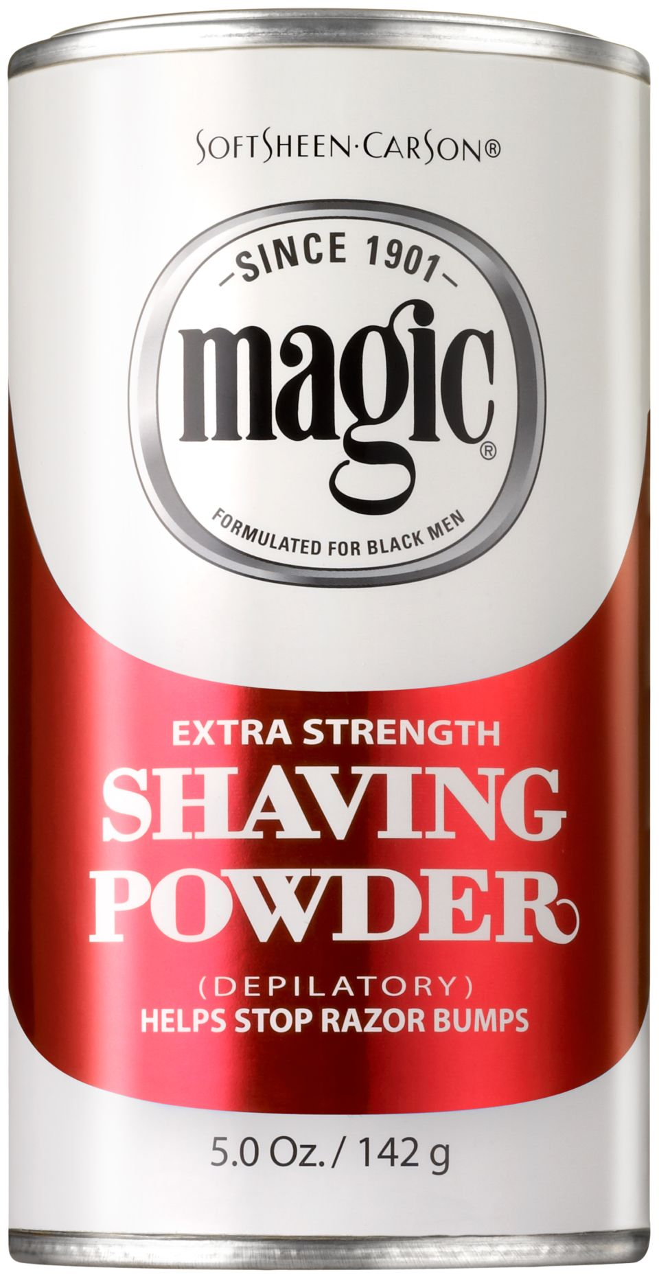 Softsheen Carson Magic Fragrant Shaving Powder Razorless Shaving