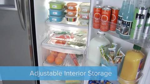 Adjustable Interior Storage