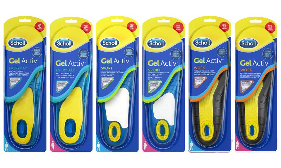 Vellidte Scholl Gel Activ Work Men - ASDA Groceries ZF-67