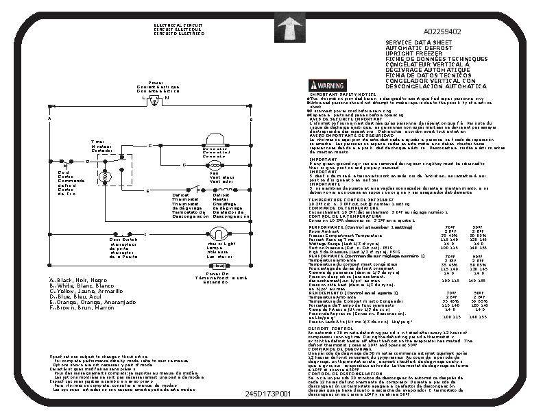 wiring diagram for frigidaire upright freezer  wiring  get