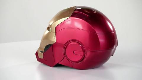 Marvel Legends Iron Man Electronic Helmet - 360° View