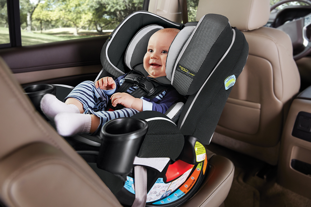The Graco 4Ever All In 1 Car Seat Featuring Safety Surround Gives You 10 Years With One