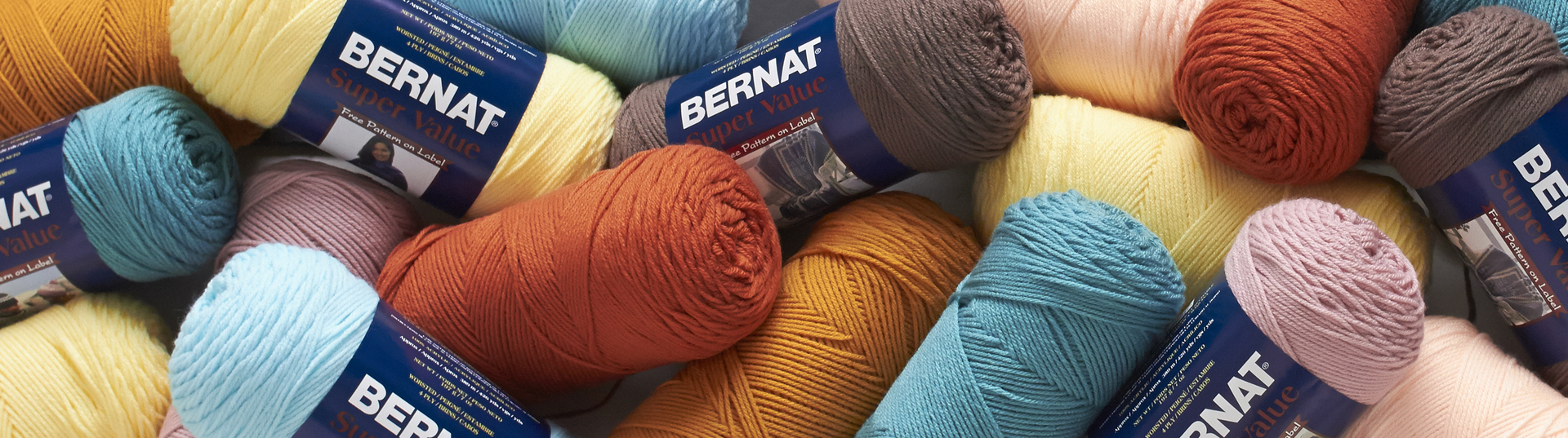 Bernat Super Value Yarn - Honey | Meijer com