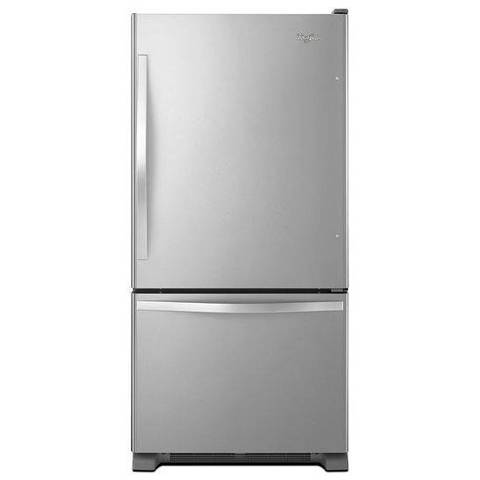 Whirlpool 22 07 Cu Ft Bottom Freezer Refrigerator