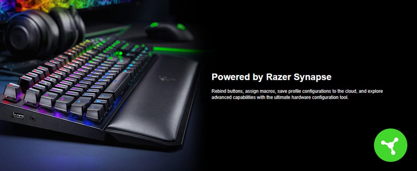 Razer BlackWidow Elite - Keyboard - backlit - USB - key switch