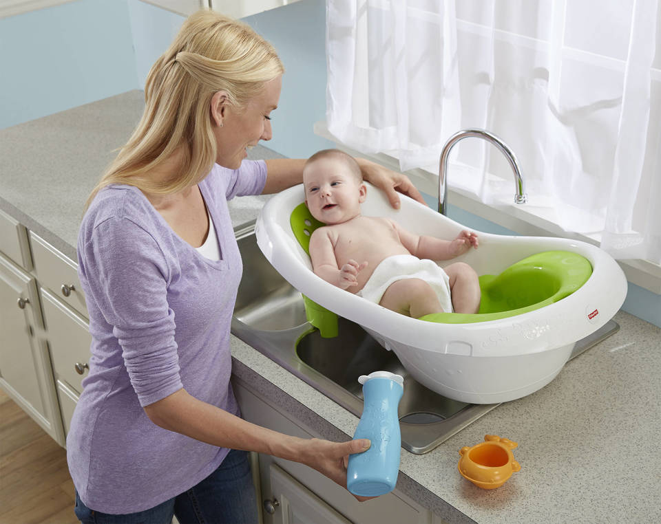 Fisher-Price® 4-in-1 Sling \'n Seat Bath Tub - Bed Bath & Beyond