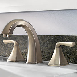 Shop Pfister Selia Brushed Nickel Handle Widespread Bathroom - Pfister selia bathroom faucet