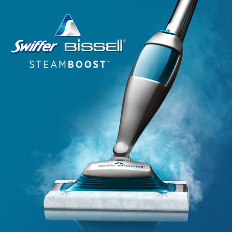 Swiffer Steamboost Kit Blue Office Depot