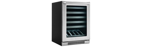 "24"" Under-Counter Wine Cooler with Right-Door Swing"