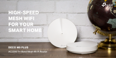 Deco M9 Plus (2-Pack) Whole-Home Wi-Fi System