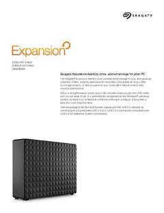 View Expansion Desktop Data Sheet PDF