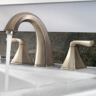 High Arc Spout. Shop Pfister Selia Brushed Nickel 2 Handle Widespread WaterSense