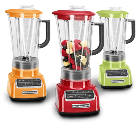 Superior KitchenAid® 5 Speed Diamond Blender