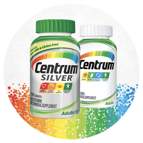 Centrum Silver Adult 125 Count Complete Multivitamin Multimineral Supplement Tablet Vitamin D3 B Vitamins Zinc Age 50 Adult Multivitamins Meijer Grocery Pharmacy Home More