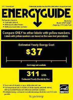 View Energy Guide PDF